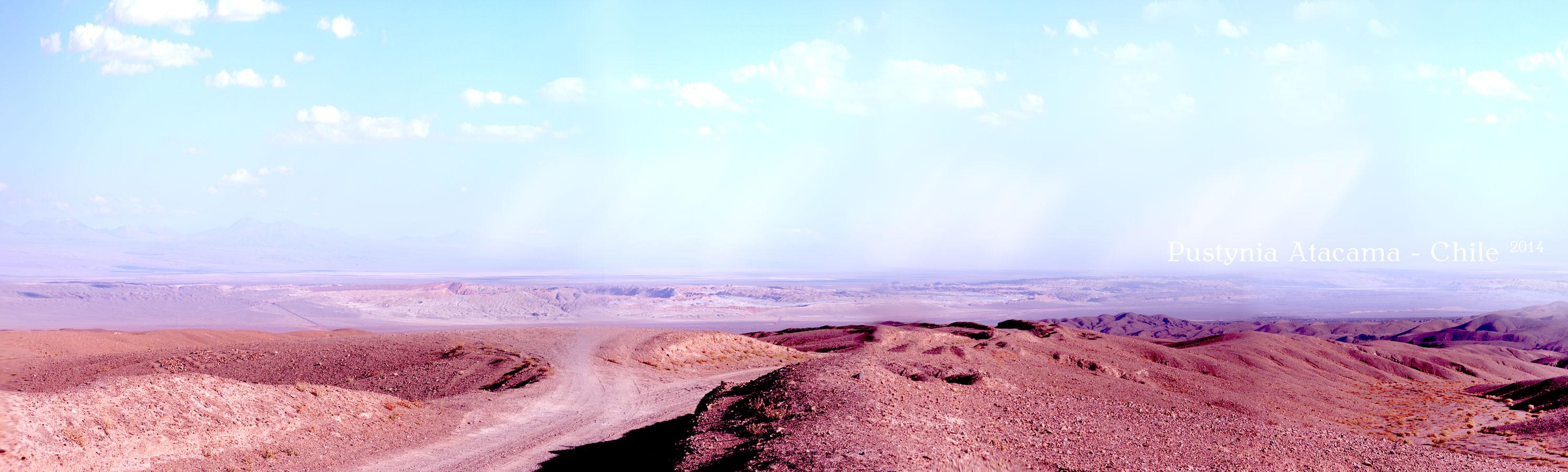 Atacama desert Chile 2014
